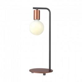 Настолна Лампа Е27 Червен Бронз Ключ