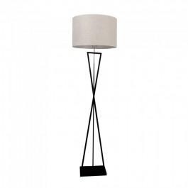 Лампион E27 Черна, Слонова Кост Ключ Кръгла