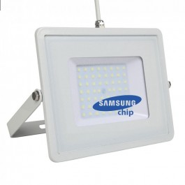 50W LED Прожектор SAMSUNG ЧИП SMD Бяло Тяло Топло Бяла Светлина