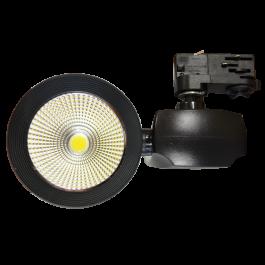 40W LED Прожектор Релсов Монтаж COB 5000K