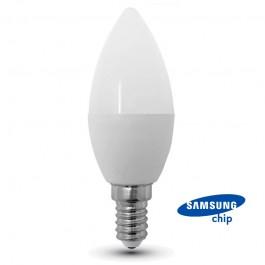 LED Крушка - SAMSUNG ЧИП 7W E14 Кендъл 3000К