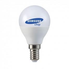 LED Крушка - SAMSUNG ЧИП 5.5W E14 P45 Неутрална Светлина