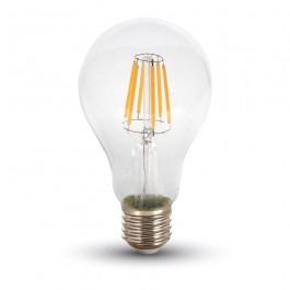 LED Крушка - 8W Винтидж E27 A67 Неутрално бяла светлина