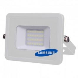 20W LED Прожектор SMD  SAMSUNG ЧИП Бяло Тяло Топло бяла светлина