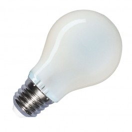 LED Крушка - 8W Винтидж Мат E27 A67 Топло бяла светлина