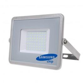 50W LED Прожектор SAMSUNG ЧИП SMD Сиво Тяло 3000К