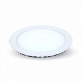 22W LED Мини панел без Драйвър - Кръг, Бяла светлина