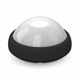12W LED Плафониера Кръг  Черно Тяло Бяла светлина  IP66