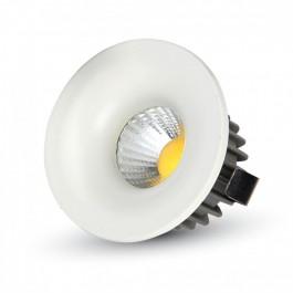 3W LED Луна Регулируема Кръг - бяло тяло, бяла светлина