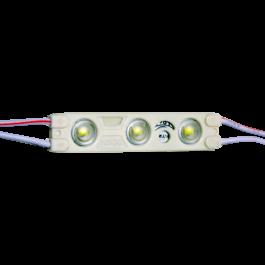 LED Модул с 3SMD Chips SMD 2835 IP67, Синя светлина