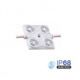 LED Модул 1.44W 2835 SMD Четворен IP68, Синя светлина