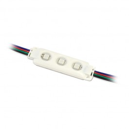 LED Модул SMD 5050 RGB Троен IP66