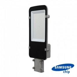LED Улична Лампа SAMSUNG ЧИП - 50W Сиво Тяло 4000К