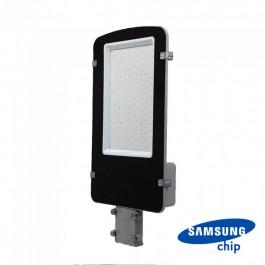 LED Улична Лампа SAMSUNG ЧИП - 100W Сиво Тяло 4000К