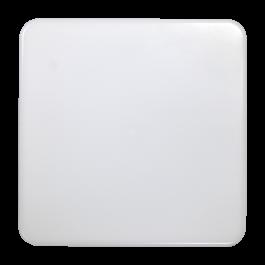 15W LED Плафониера без рамка IP44 Квадрат Неутрално бяло