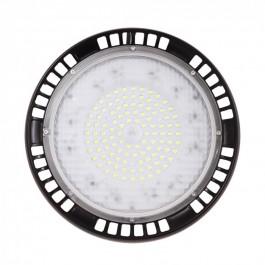 100W LED Камбана UFO A+ Mean Well  Студено бяла светлина 5 години гаранция 90°