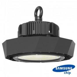 LED Камбана SAMSUNG ЧИП  - 100W UFO Meanwell драйвер 120` 180LM/WATT 6400K