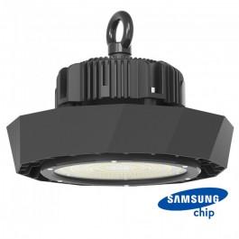 LED Камбана SAMSUNG ЧИП/ДРАЙВЕР - 100W 90° Черно Тяло 120LM/WATT 6400K