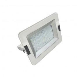 50W LED Прожектор Бяло тяло SMD - Бяла светлина
