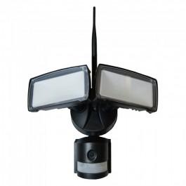 18W LED Прожектор С WIFI Сензор Камера Бяла светлина