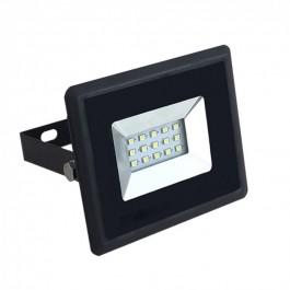 10W LED Прожектор Черно Тяло Топло бяла светлина