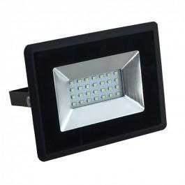 20W LED Прожектор  Черно Тяло Бяла светлина