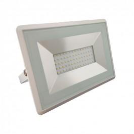 50W LED Прожектор E-Series Бяло тяло SMD - Топло бяла светлина