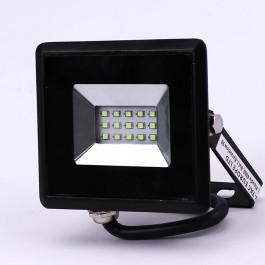 10W LED Прожектор E-Series Черно Тяло Зелен IP65