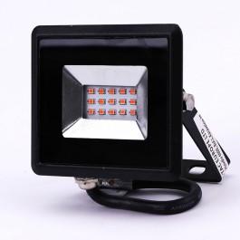 10W LED Прожектор E-Series Черно Тяло Червен IP65