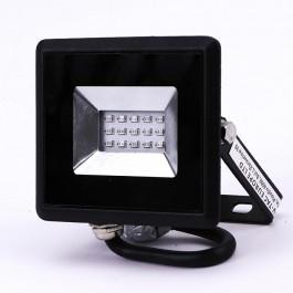 10W LED Прожектор E-Series Черно Тяло Син IP65