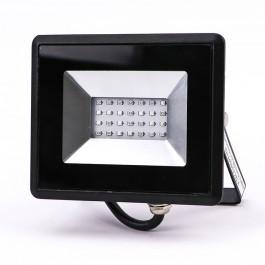 20W LED Прожектор E-Series Черно Тяло Син IP65