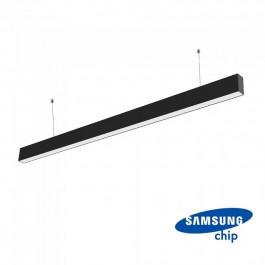 LED Линейно Осветление SAMSUNG Чип - 40W Висящо Черно Тяло 6400K