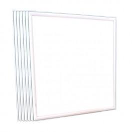 LED Панел 45W UGR 600 x 600 mm Топло бяла светлина c Драйвер 6 бр./СЕТ