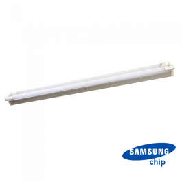 44W LED Двойно Тяло за Пура SAMSUNG Чип 150см Неутрално бяла светлина