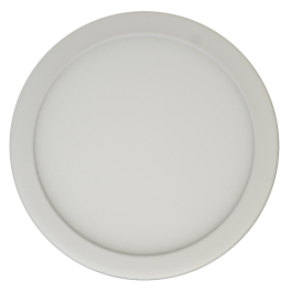 6W LED Панел Външен монтаж Premium- Кръг топло бяла светлина