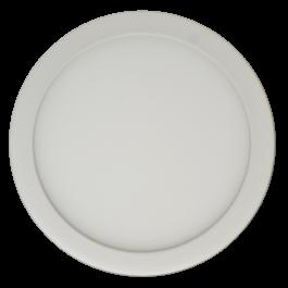 6W LED Панел Външен монтаж Premium - Кръг, неутрално бяла светлина