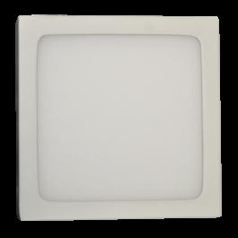 6W LED Панел Външен монтаж Premium - Квадрат топло бяла светлина