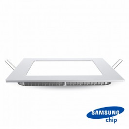 24W LED Панел Premium SAMSUNG Чип Квадрат 6400K