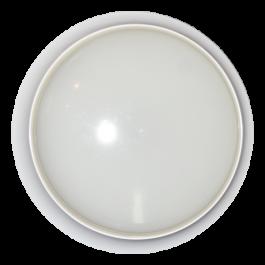 17W LED Плафониера Аварийно Оветление Кръгла,  бяла