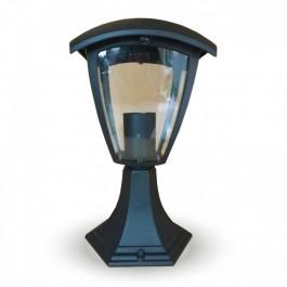 Градиснки Стълб 30см E27 Черен IP44 Водозащитен