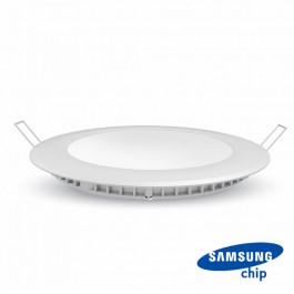 24W LED Панел Premium SAMSUNG Чип Кръг 6400K