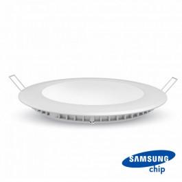 24W LED Панел Premium SAMSUNG Чип Кръг 3000K