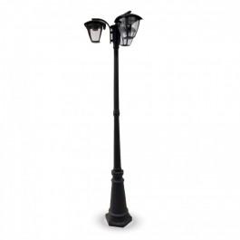 Градиснки Лампа 3ХE27 1990мм Черен IP44 Водозащитен