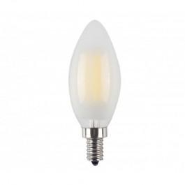 LED Тип Свещ Крушка - 4W Кръст Винтидж Бяло покритие E14 Студено бяла светлина