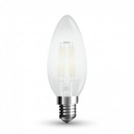 LED Крушка - 4W Винтидж E14 Свещ Топло бяла светлина Димираща