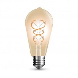 LED Тип Крушка - 5W Винтидж E27 Топло бяла светлина