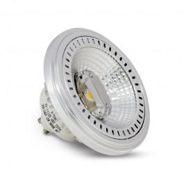 LED Крушка - AR111 GU10 40° 12W 12V Бяла светлина Димираща