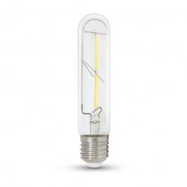 LED Крушка 2W T30 E27 Filament Топло бяла светлина