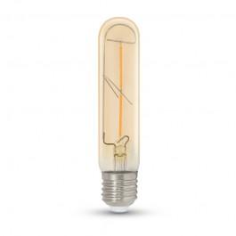 LED Крушка 2W T30 E27 Filament Amber Топло бяла светлина