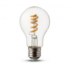 LED Крушка 4W Filament E27 Кендъл Спирала Мат Топла